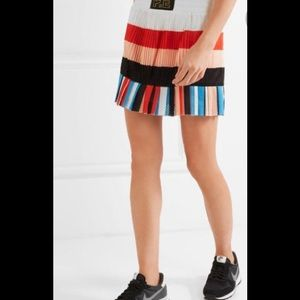 NWT P.E NATION The Heat Pleated  Mini Skirt S